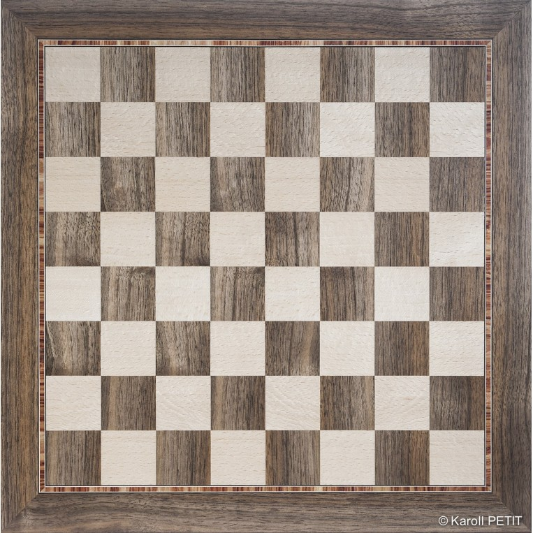 Chess Board Marquetry Échiquier Marqueterie Wilfried Allyn Design Decoration 600,00 €