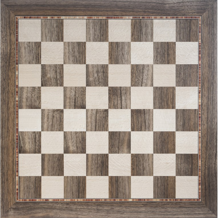 Complete Chess Set (marquetry) Échecs complet marqueterie Wilfried Allyn Design Decoration 2 600,00 €
