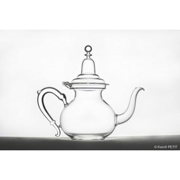 Oriental Teapot (glass hinge)