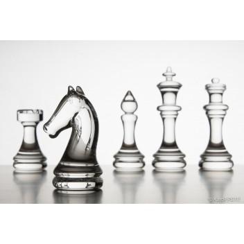 Pièces de jeu d'échecs