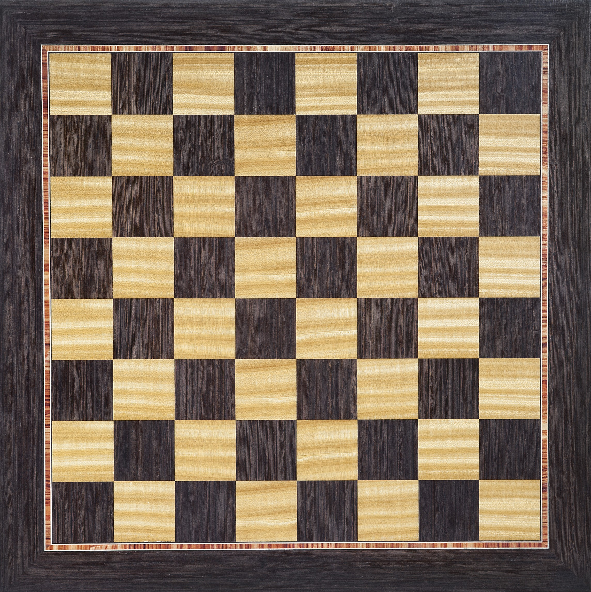 Chocolate Marquetry Chess Board