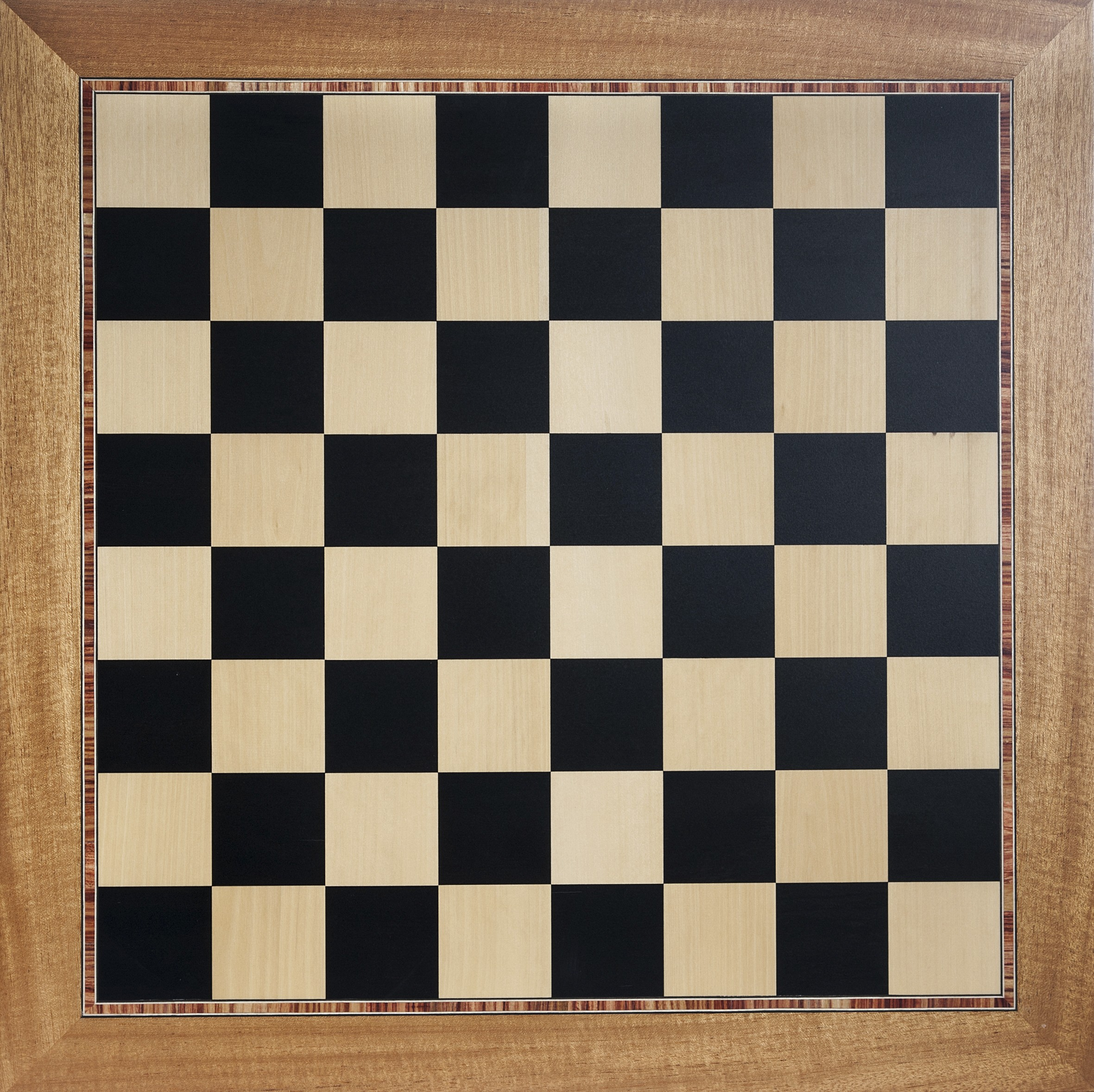 Light Marquetry Chess Board